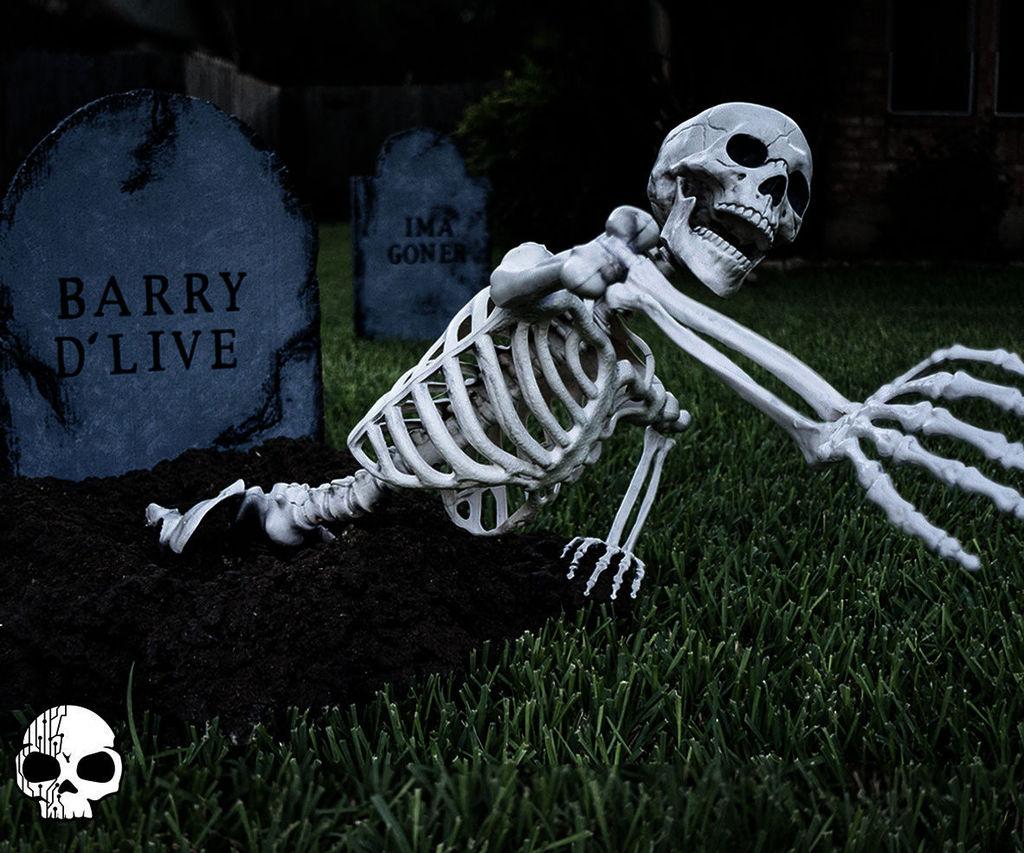 Graveyard Skeleton