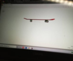 Creative Skateboard Modelskateboard Model