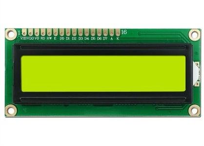 16*2 LCD Display.