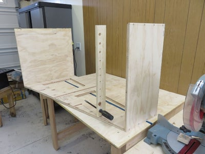 Make the Shelf and the Rungs