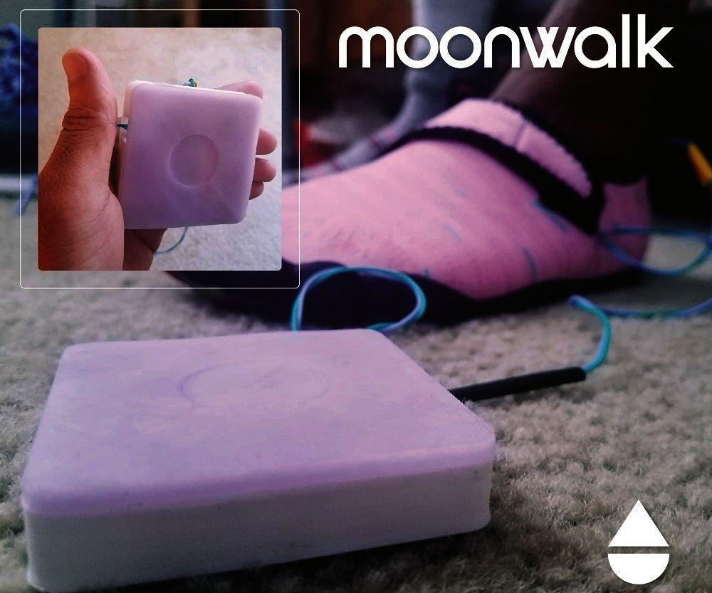 Moonwalk: a Haptic Feedback Prosthetic