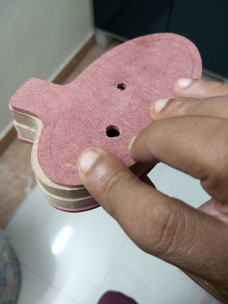 Picture of Marking and Drilling the Holes