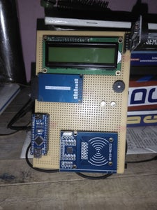 Automatic Students Attendance System Using Arduino and RFid.