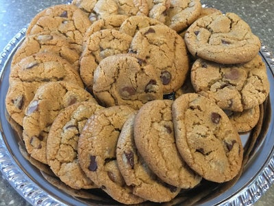 Browned Butter and Sea Salt Chocolate Chip Cookies