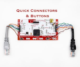 Quick Connectors and Buttons for Makey Makey