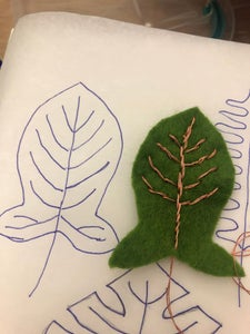 Use Thread to Sew and Embroidery