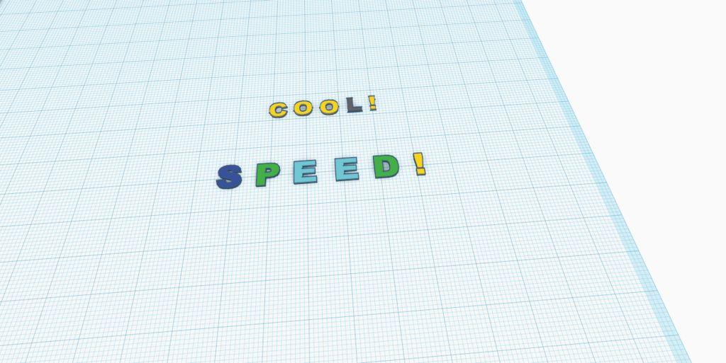 Picture of Step 7: Make the Words Speed and Cool