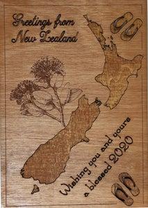 Plywood Postcard