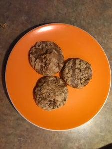Coffee Toffee Cookies*