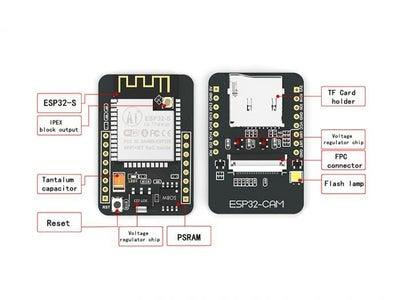 ESP32-Cam Ai-Thinker With OV2640