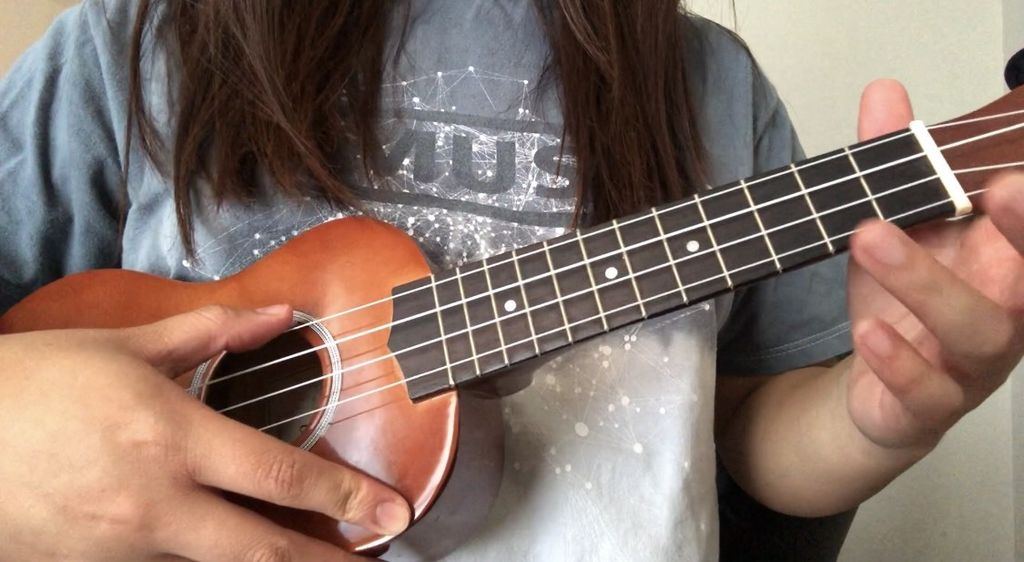 Picture of Hold a Ukulele