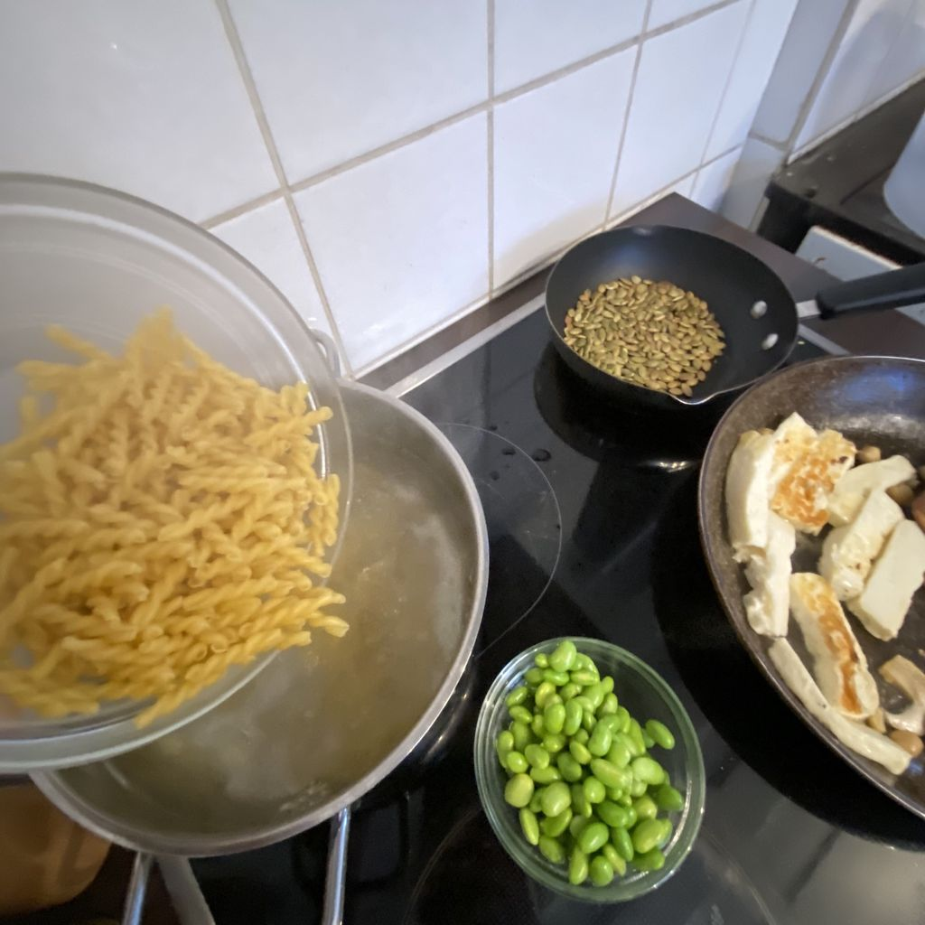 Picture of Prepare the Cooked Ingredients