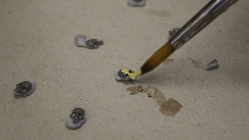Picture of Painting Skulls in 3 Stages