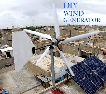 DIY Wind Generator