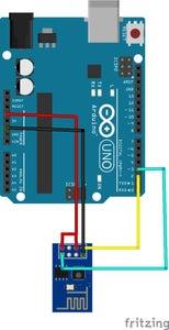 Configuring Your ESP8266 – 01 WiFi Module