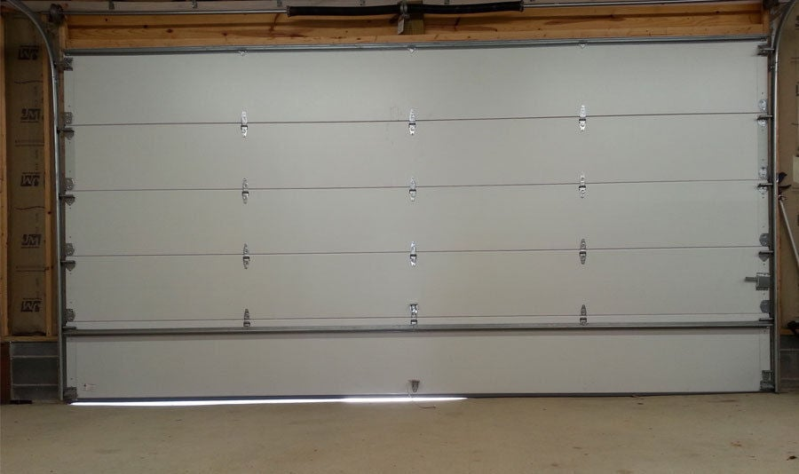 Picture of Replacing a Garage Door Weather Seal