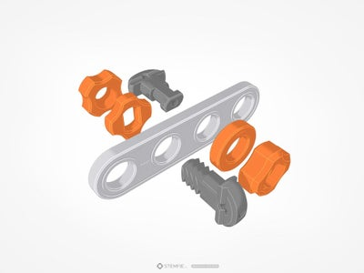 STEMFIE Construction Set Sample Parts