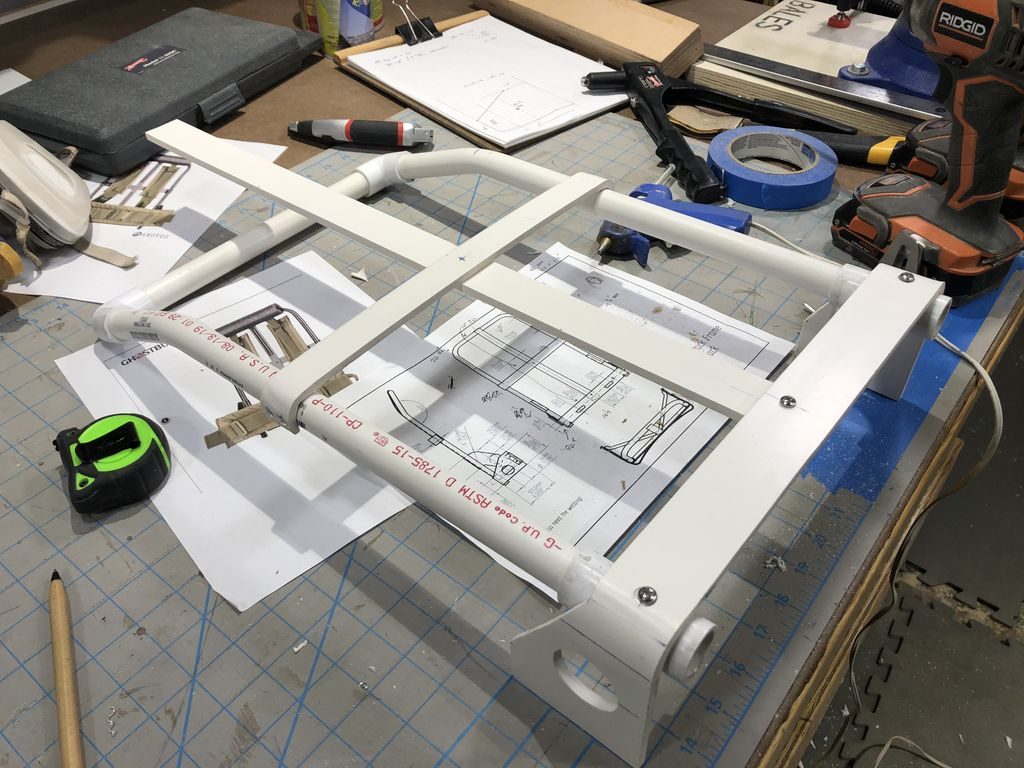 Picture of Alice Pack Rack Fabrication - Flat Stock Components