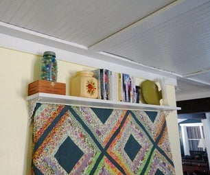 Quilt Shelf Wall Hanging