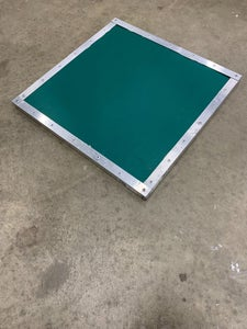 Assemble the Top Panel, Attach It to the Frame, and Install Hinges.