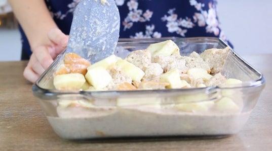 Spread Into Baking Dish