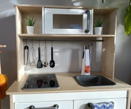 IKEA Play Kitchen W/ Working Sink