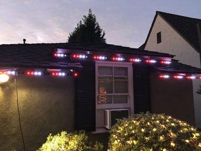 Permanent Digital LED House Holiday Lighting V2