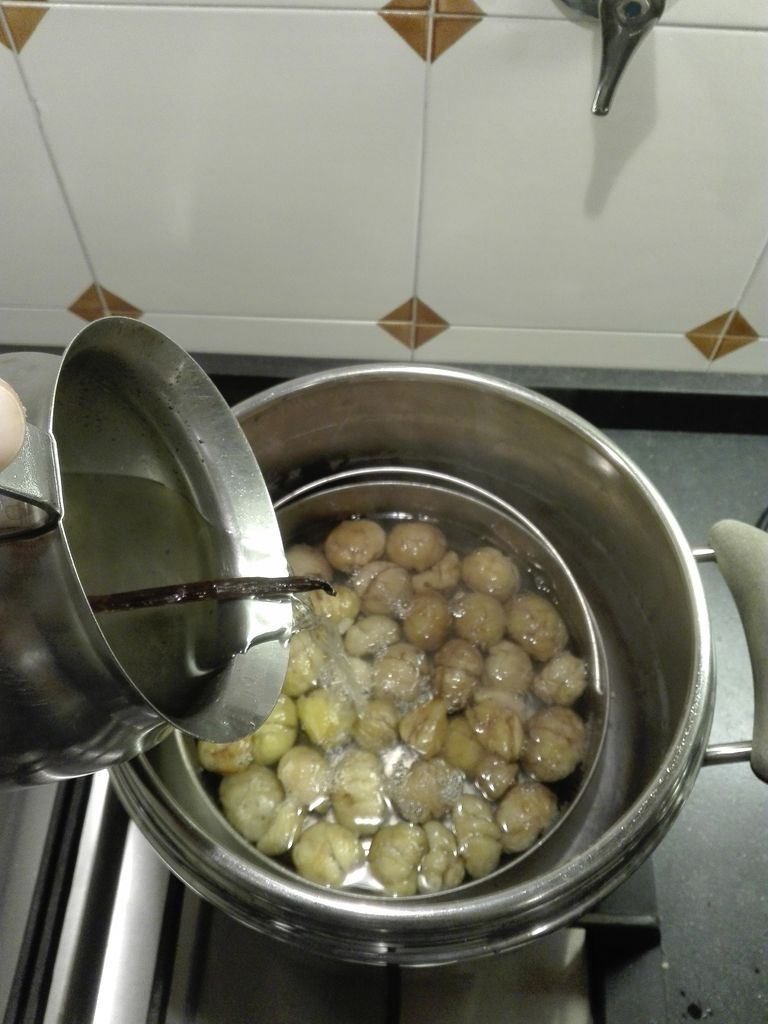 Picture of Prepare the Syrup and Start the Candying