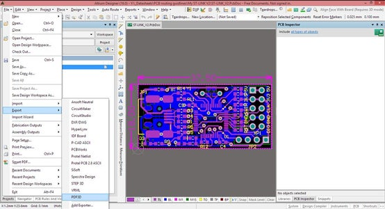 Export Your PCB Project File in 3D Format
