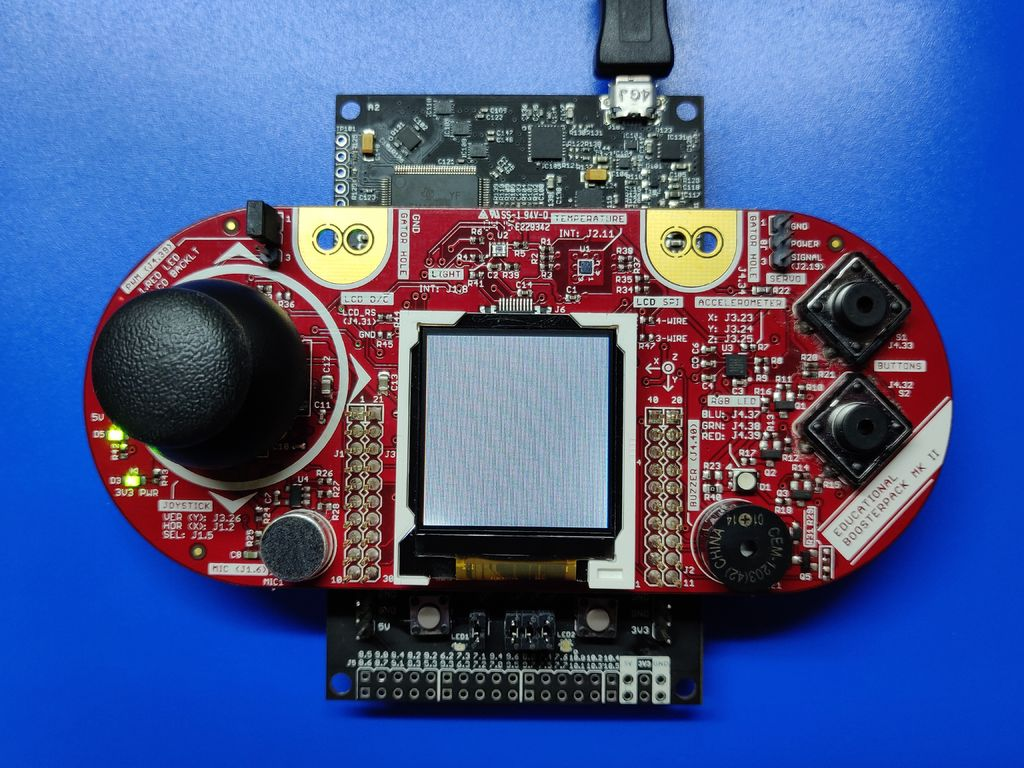 Picture of Hardware - MSP432 LaunchPad, Educational BoosterPack MKII