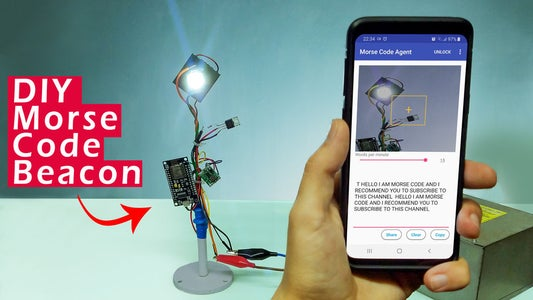 Receive Morse Code Using a Decoding App on Your Smartphone