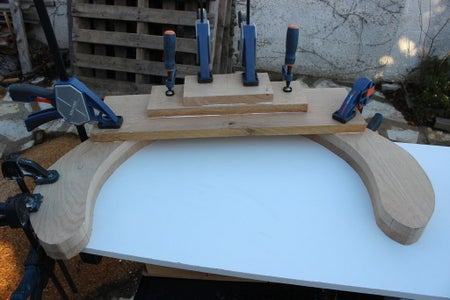 Back and Arm Rest Block : Upper Part