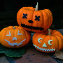 3D Print Jack-o-Lantern Face Pieces - Mr. Pumpkin Head