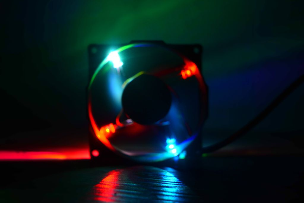 Picture of Finally Made a RGB LED Fan for Computer