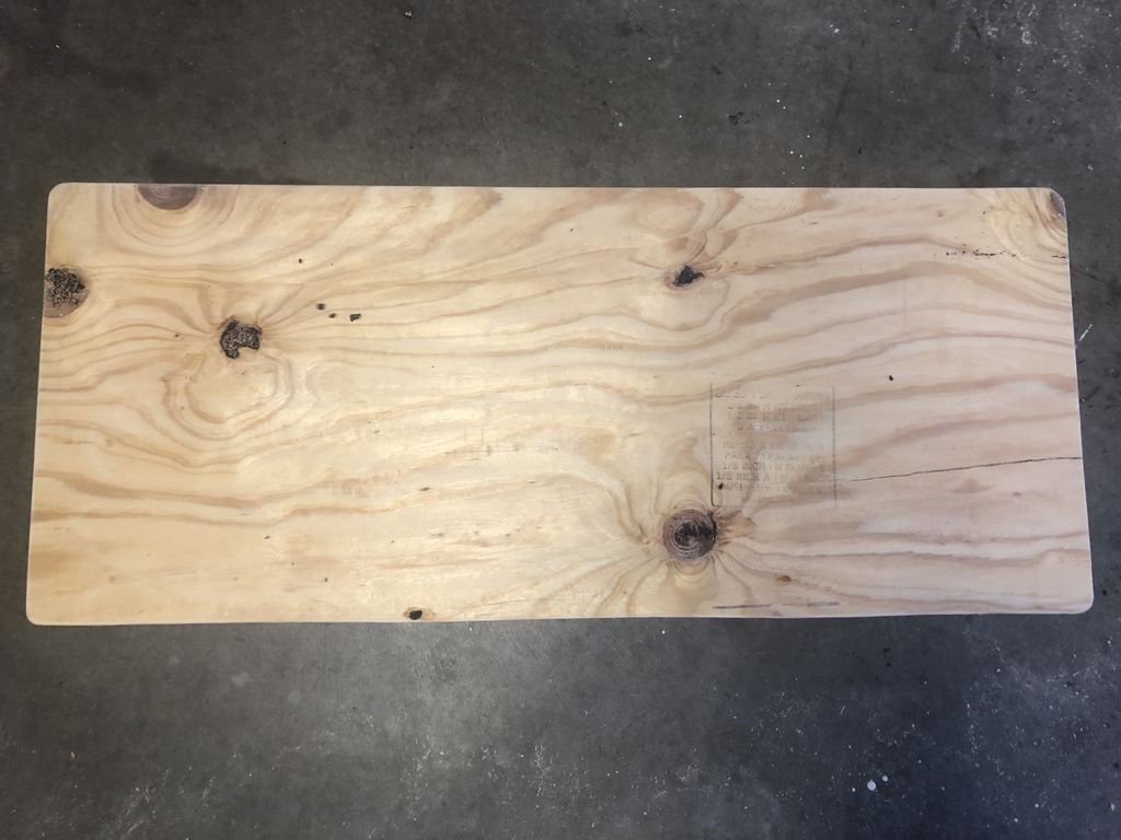 Picture of Cut a Piece of Plywood for the Seat Top