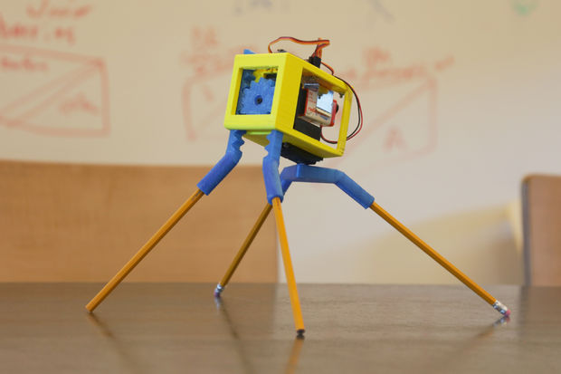 Picture of 3D Printed Robot