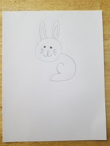 Draw the Body and Back Legs
