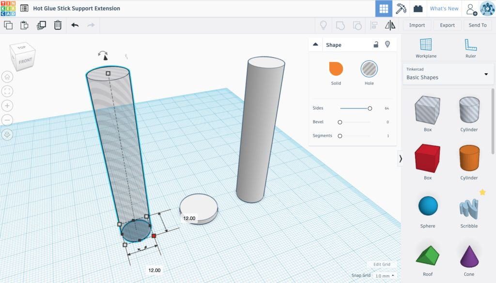 Picture of 3D Modelling a Proof of Concept Model With Tinkercad