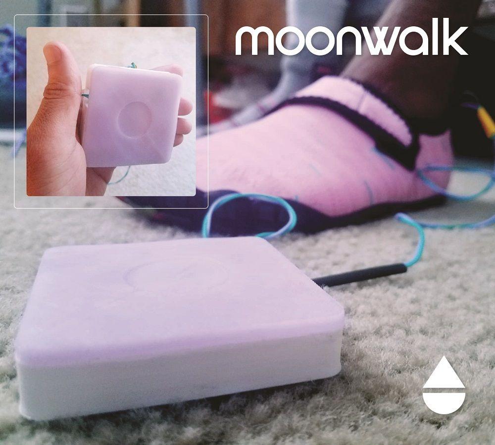 Picture of Moonwalk: a Haptic Feedback Prosthetic
