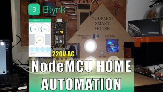 NodeMCU Home Automation (ESP8266)