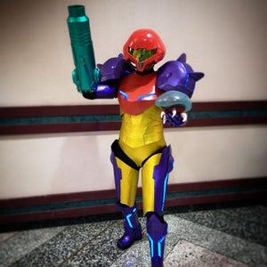 Samus Aran's Arm Cannon From Metroid