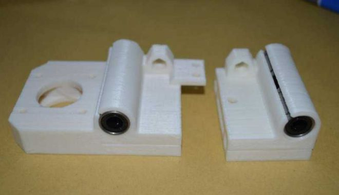 Picture of X-axis Assembly