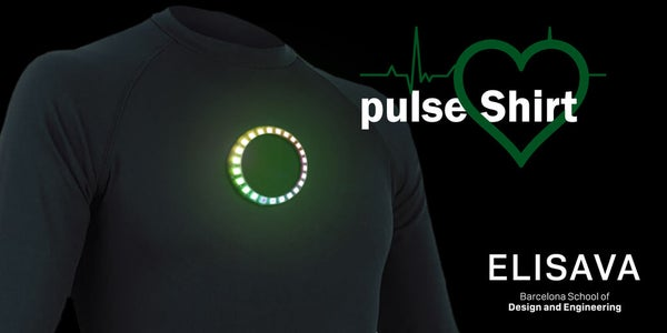 Pulse Shirt - LED - Arduino NANO