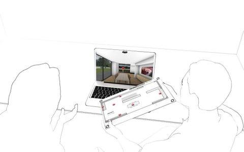 Setup - Floorplan on Keyboard (Notebook)