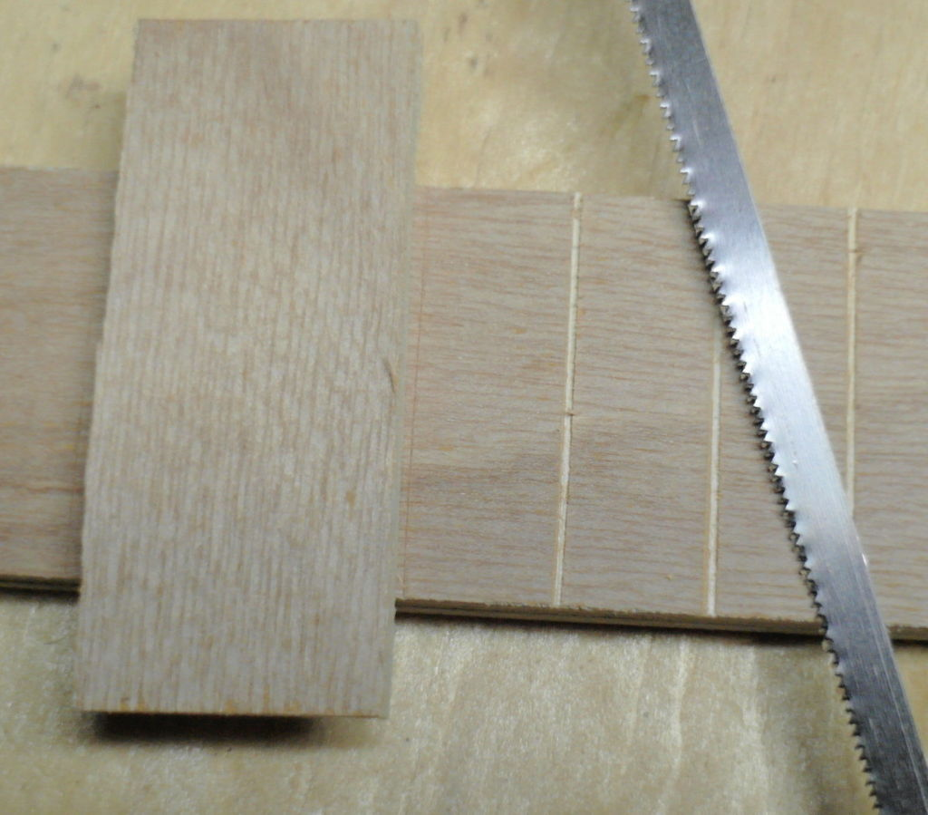 Picture of Finish the Fret Board / Neck