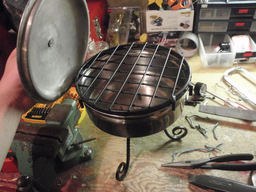 Small Fishing Grill