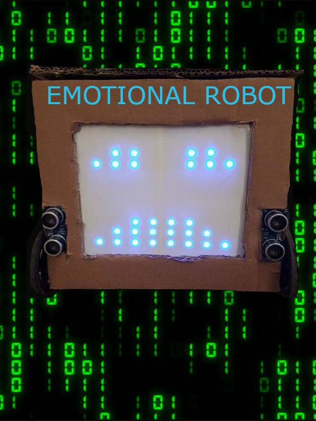 Picture of THE EMOTIONAL OBSTACLE AVOIDING ROBOT