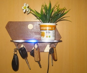 Magnetic Key Holder Key Hanger