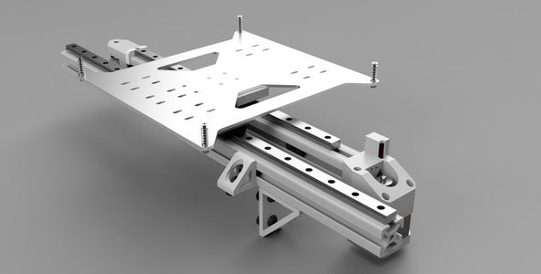 Assembling Y Axis Additional Rail