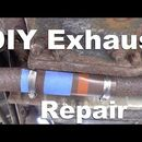 DIY Exhaust Pipe Leak Repair